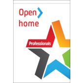 Professionals Open Home Flag