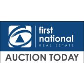 First National Reverse Logo Auction