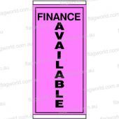 Finance Available Pink Flag 900mm x 1800mm flag