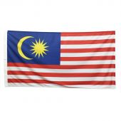 Malaysia Flag 1800mm x 900mm (Knitted)