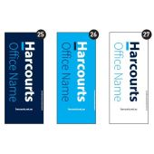 Harcourts PUB - Open Home and Auction Banners White