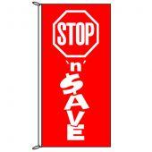 Stop N Save Flag