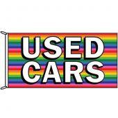 Used Cars Rainbow Flag
