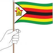 Zimbabwe Handwaver Flag