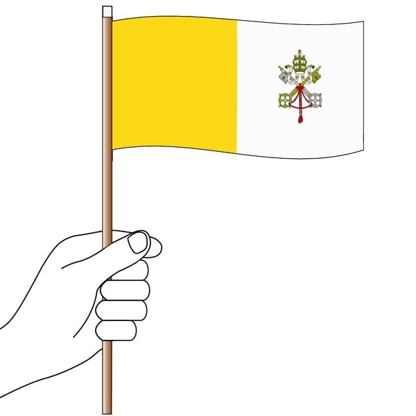 Church Handwaver Flags
