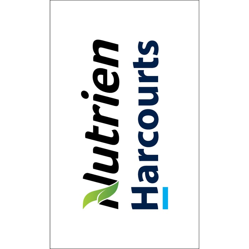 Nutrien Harcourts Real Estate Flags