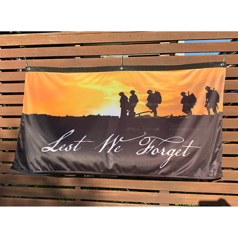 Anzac Day flag
