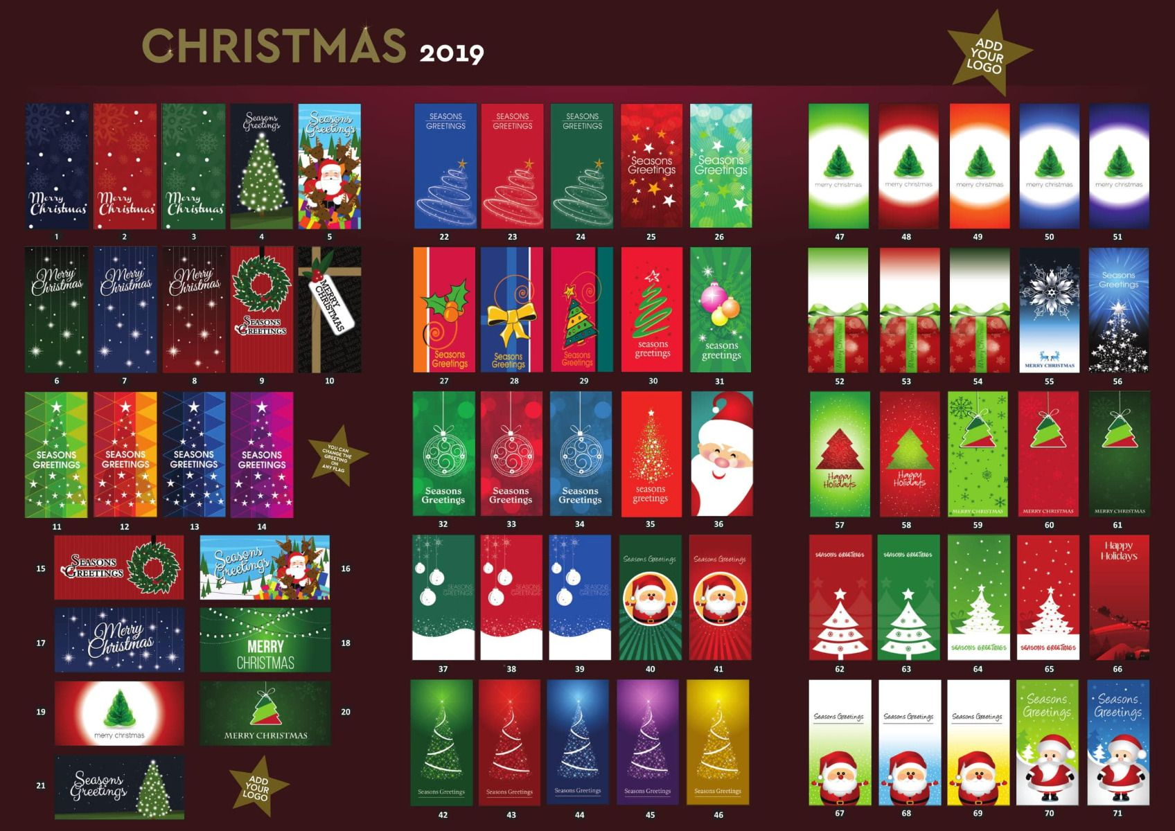 Christmas Flags Brochure pg 1