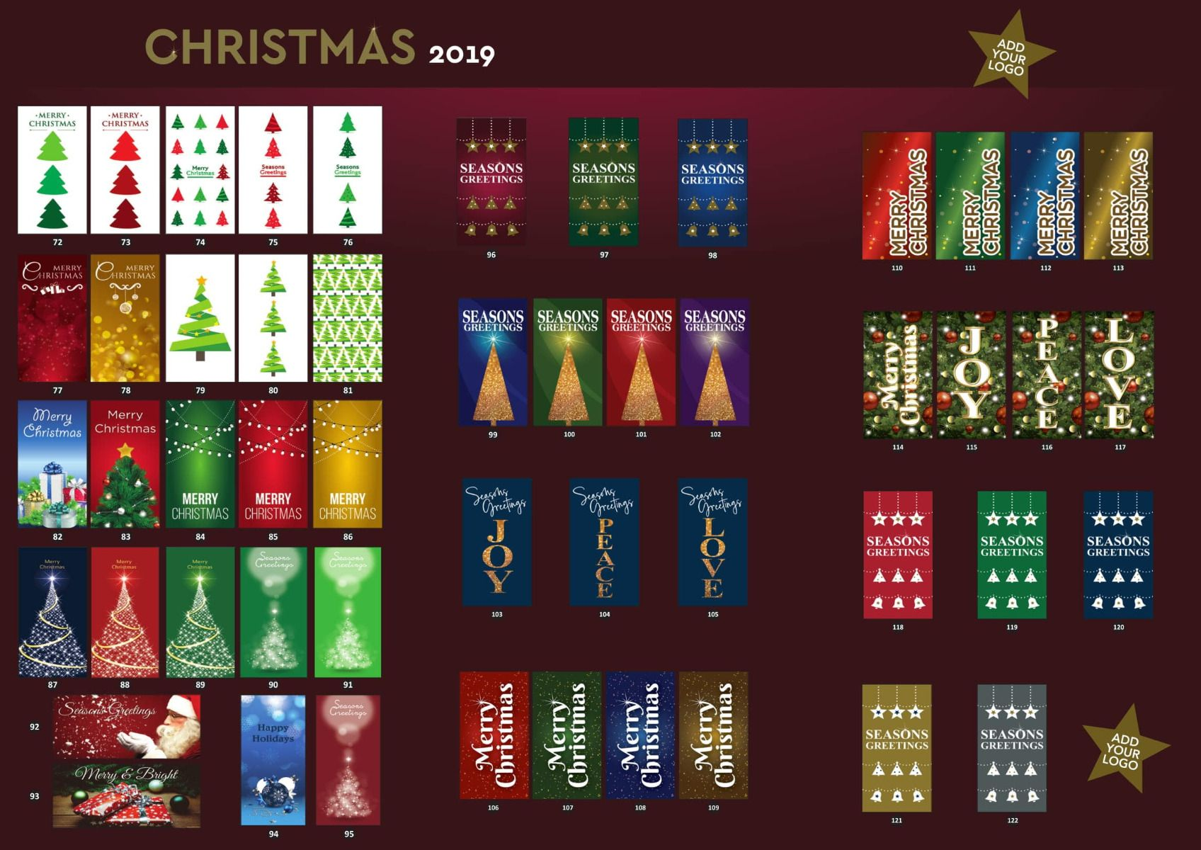 Christmas Flags Brochure pg 2
