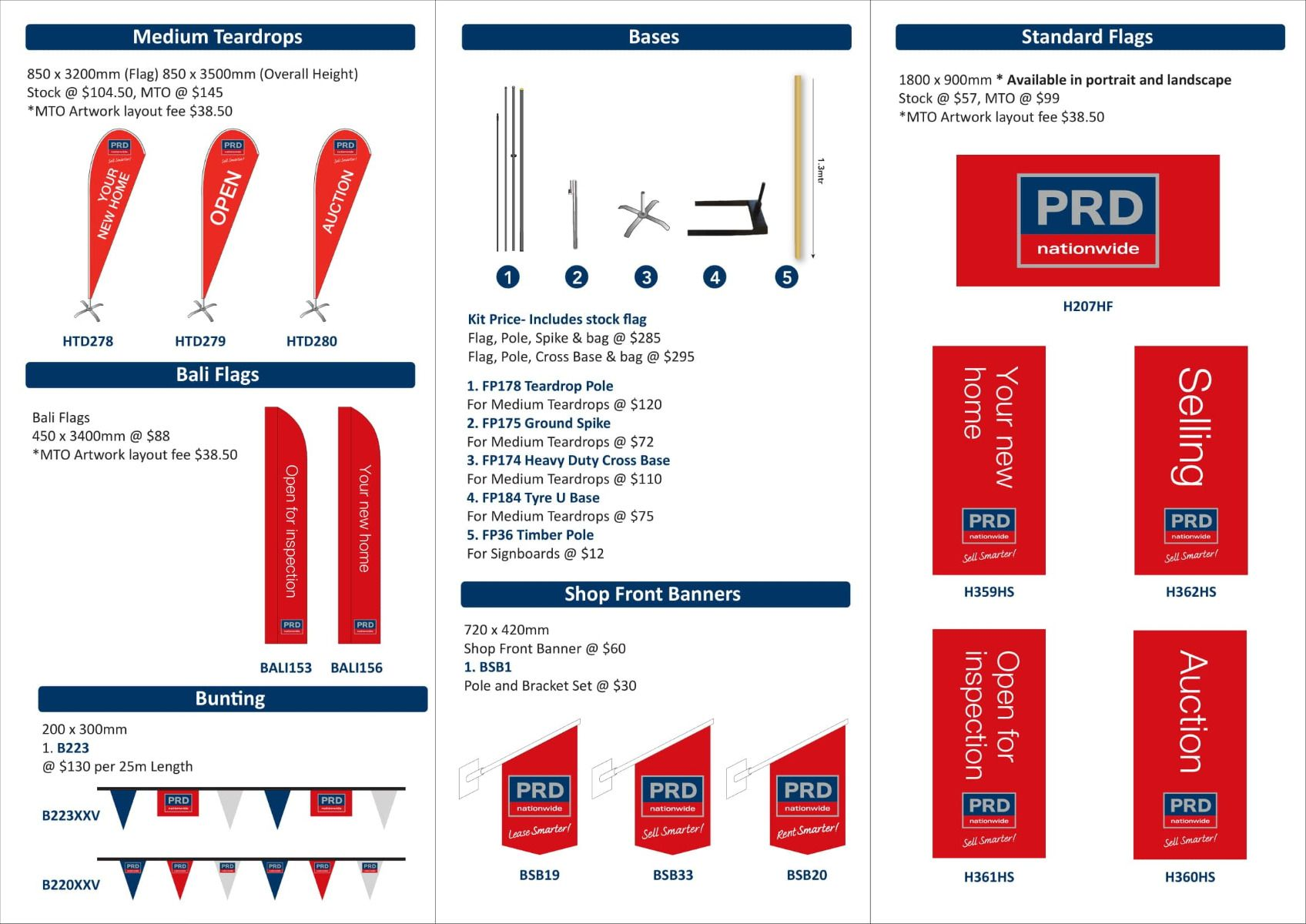 PRD Flags and Banners