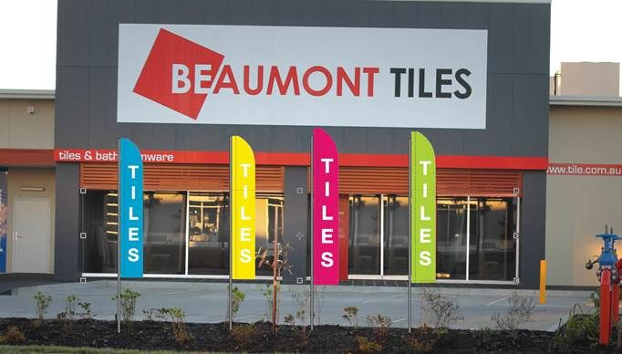 Beaumont Tile Flags Coloured